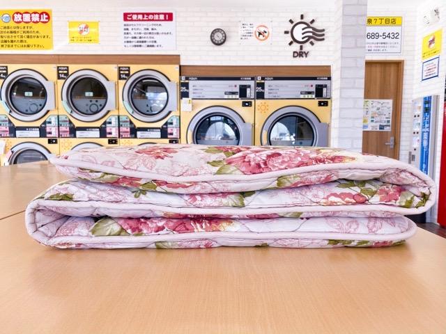洗濯前の敷布団